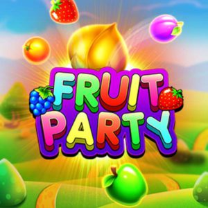 Fruit party poster